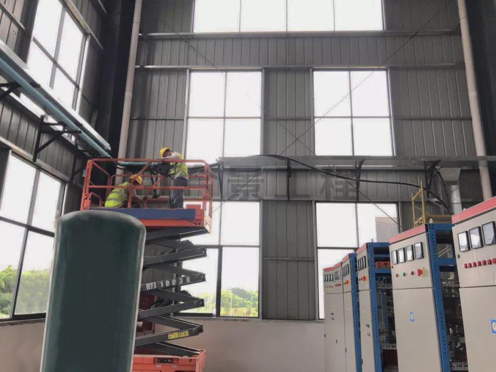 江西瑞金食品厂车间工程施工进度播报